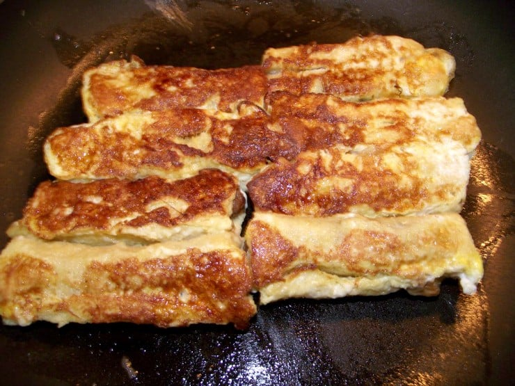 french toast sausage pan