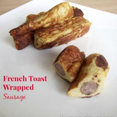French Toast Wrapped Sausage Recipe