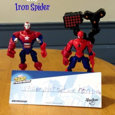 Super Hero Mashers from Hasbro #MyMashUp