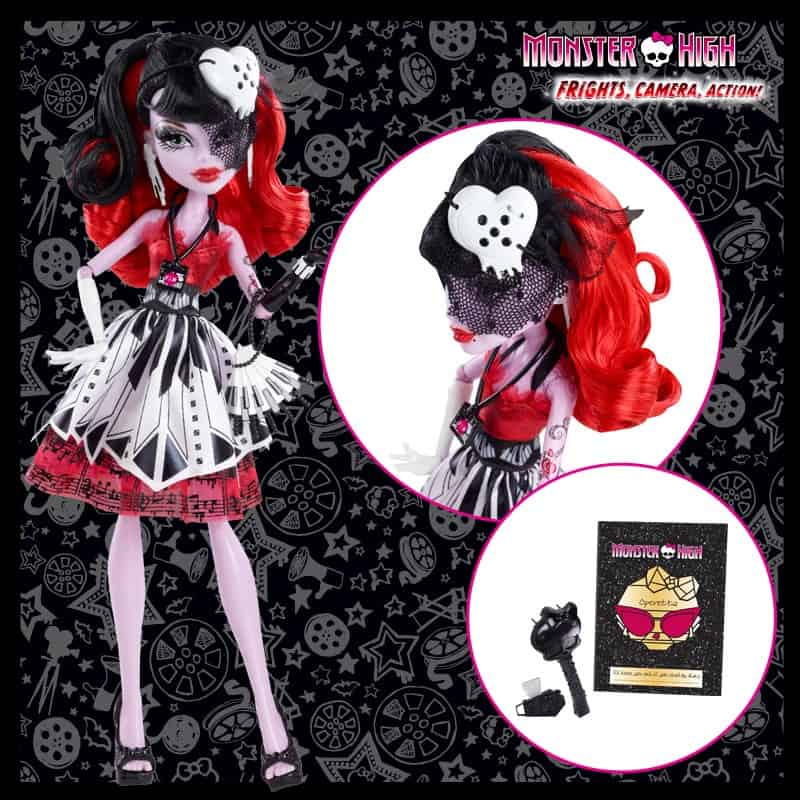 hauntlywood monster high movie operetta doll