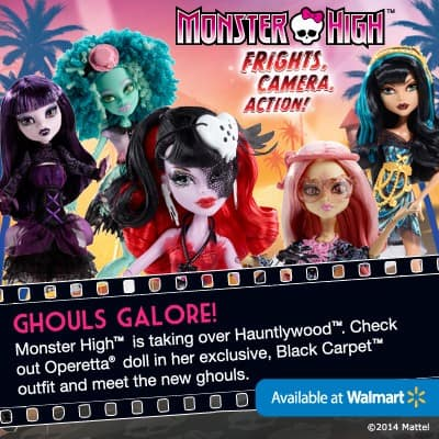 Monster High Ghouls go to Hauntlywood in latest film