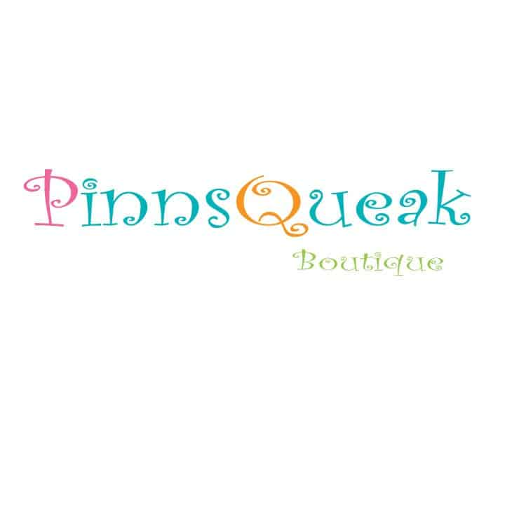 pinnsqueak childrens canvas wall art logo