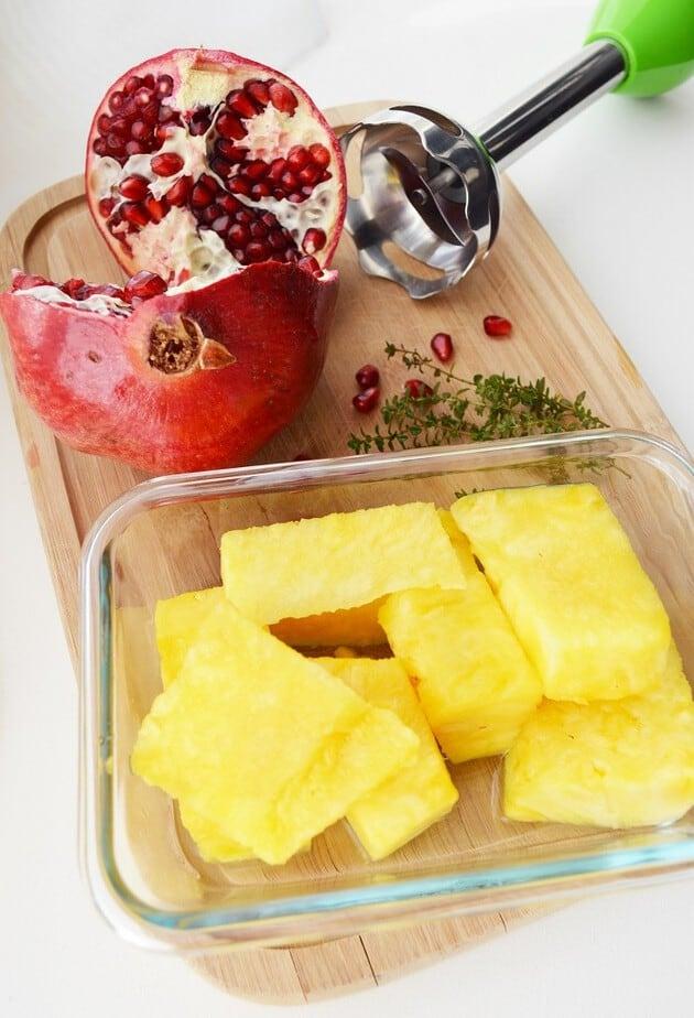 pomegranate pineapple ham ingredients