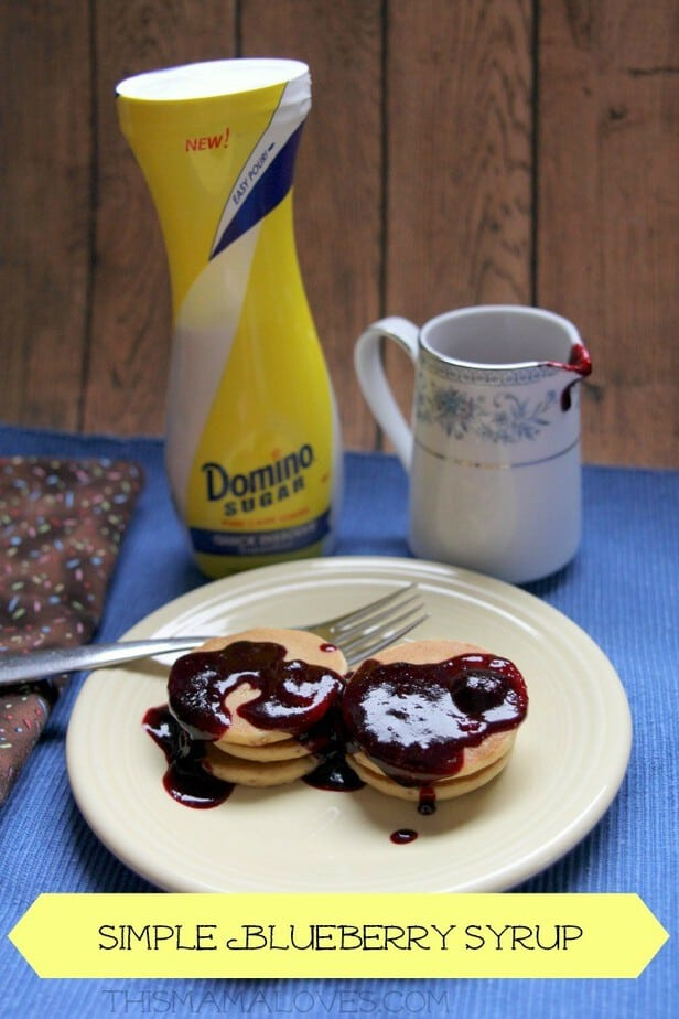 simple blueberry syrup  image #FlipTopFrenzyFree