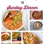soups for sunday dinner