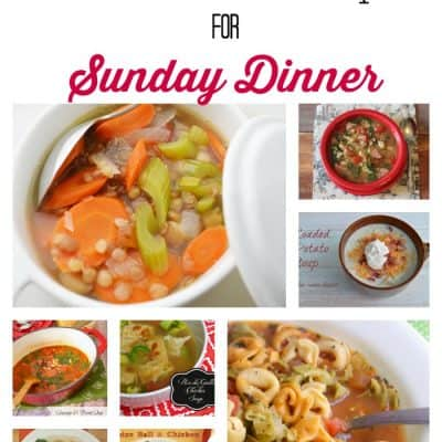 Soup's On! 21 Fabulous Soup Recipes for Sunday Dinner @foodie