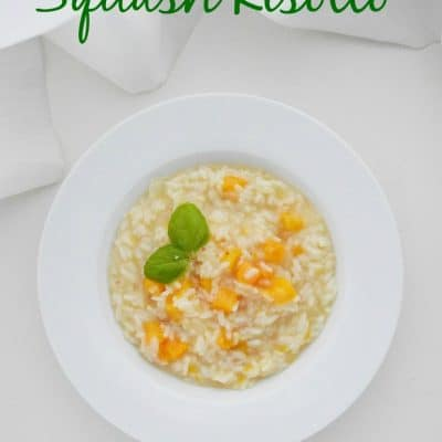 Squash Risotto Recipe