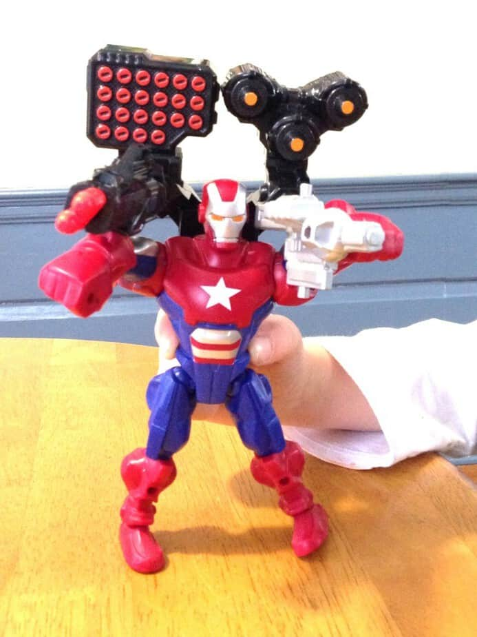 super hero mashers iron patriot