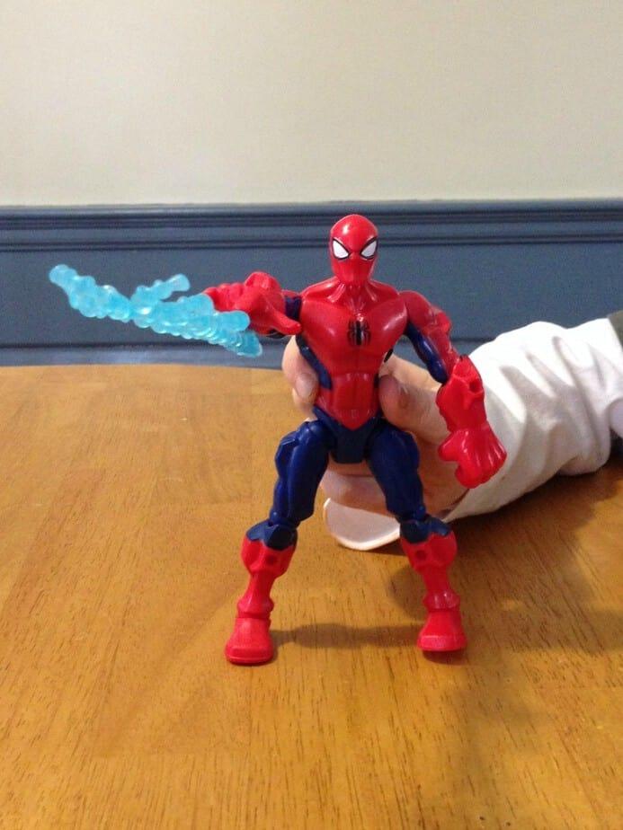 super hero mashers spider man