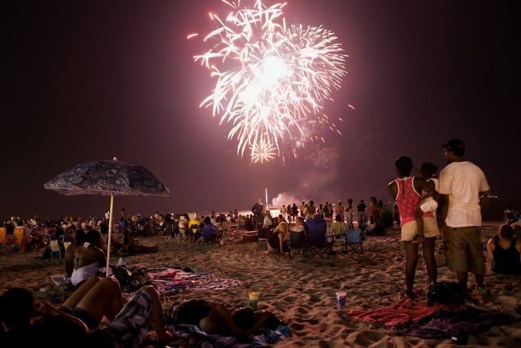 Fireworks Virginia Beach Mt Trashmore
