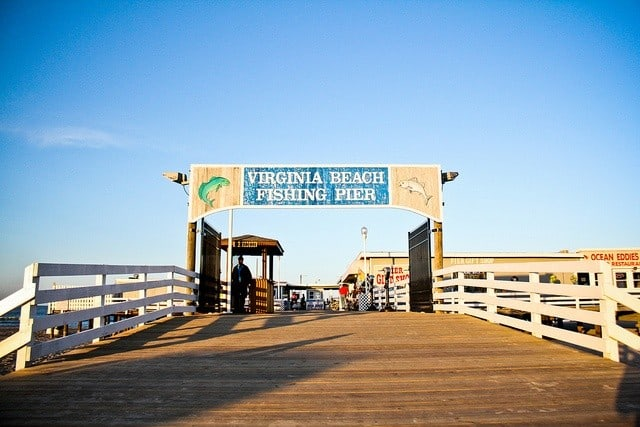 3 reasons to visit virginia beach for Va beach fishing pier