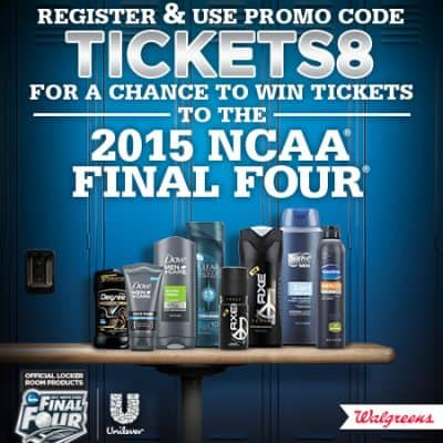 Enter to win tickets to the NCAA Final Four!