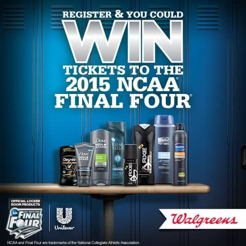 walgreens ncaa final four tickets giveaway