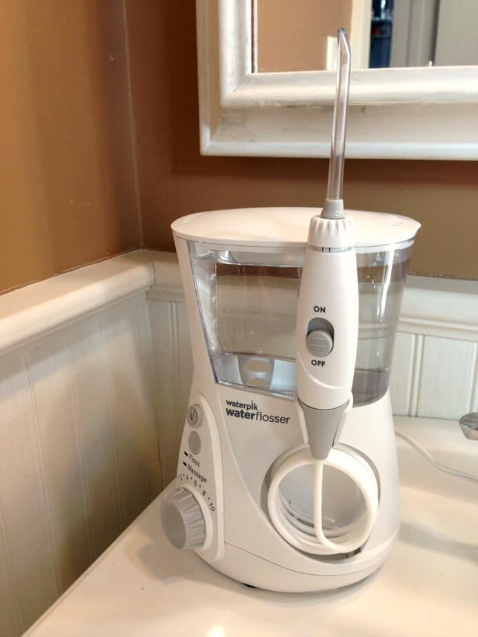 never floss again with the waterpik aquarius newageinwaterflossing this mama loves. Black Bedroom Furniture Sets. Home Design Ideas