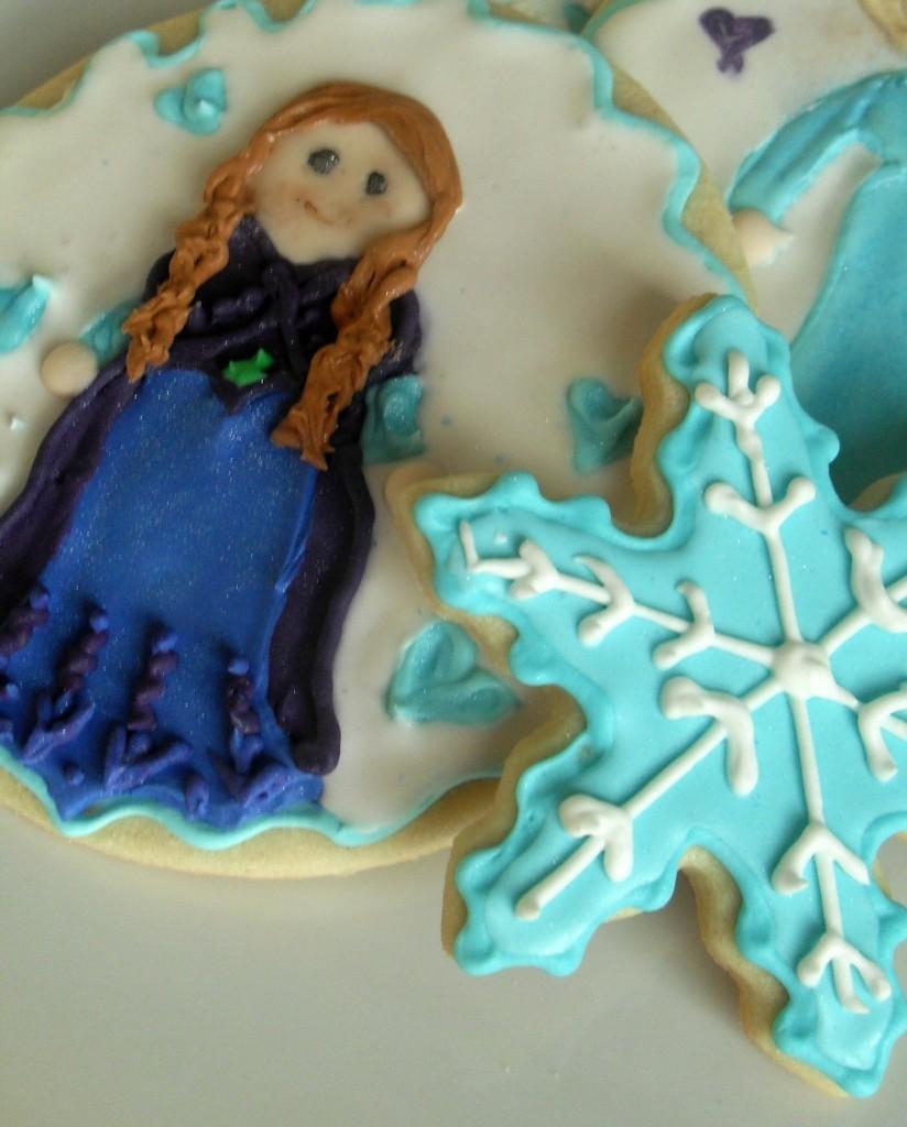 Elsa Anna close up