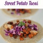 Maple Chicken sweet Potato taco recipe