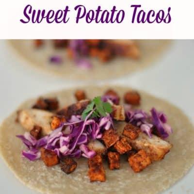 Maple Glazed Chicken and Sweet Potato Tacos Recipe