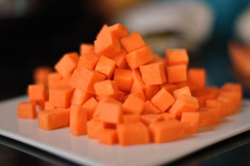 Sweet Potatoes Diced