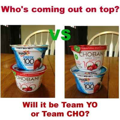 The best Greek Yogurt: Are you YO or CHO? #TasteOff