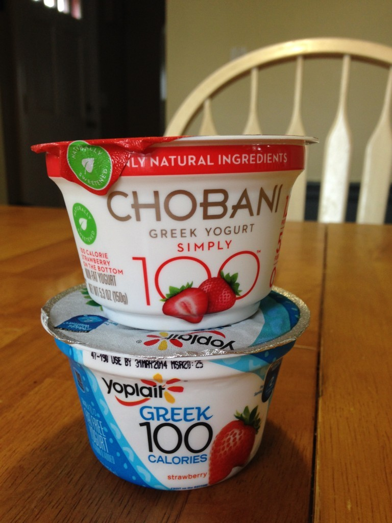 chobani on top
