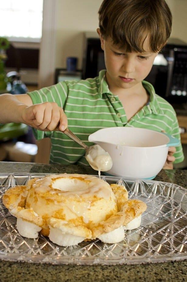 easy pina colada cake