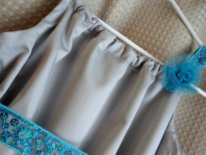 frozen inspired anna pillowcase-dress