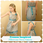 frozen pillowcase dress pattern