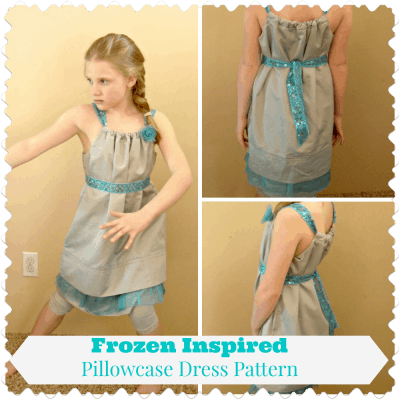 Pillowcase Dress Pattern: Disney Frozen Inspired