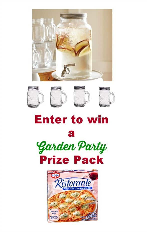 garden party prize pack