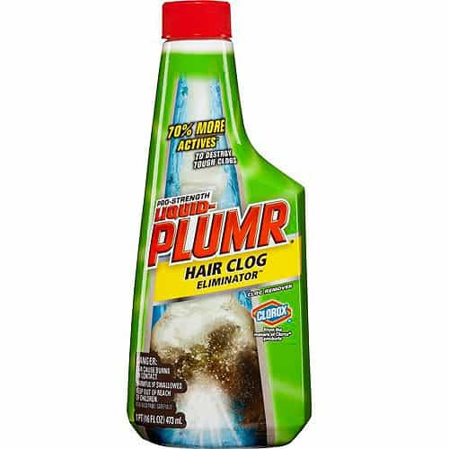 liquid-plumr hair clog