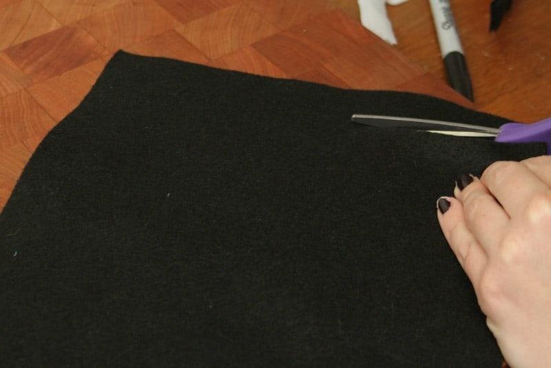 minnie mickey mouse felt bracelets cut