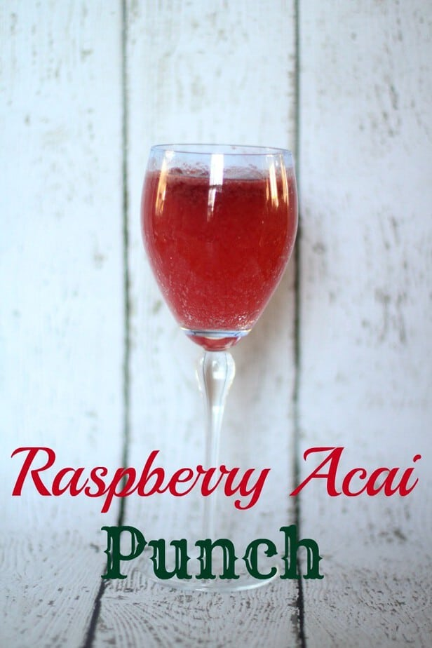 raspberry acai punch