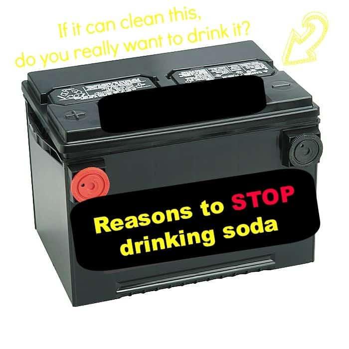 reasons to stop drinking soda