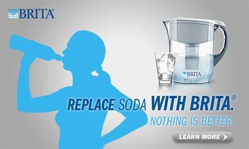 replace soda with brita