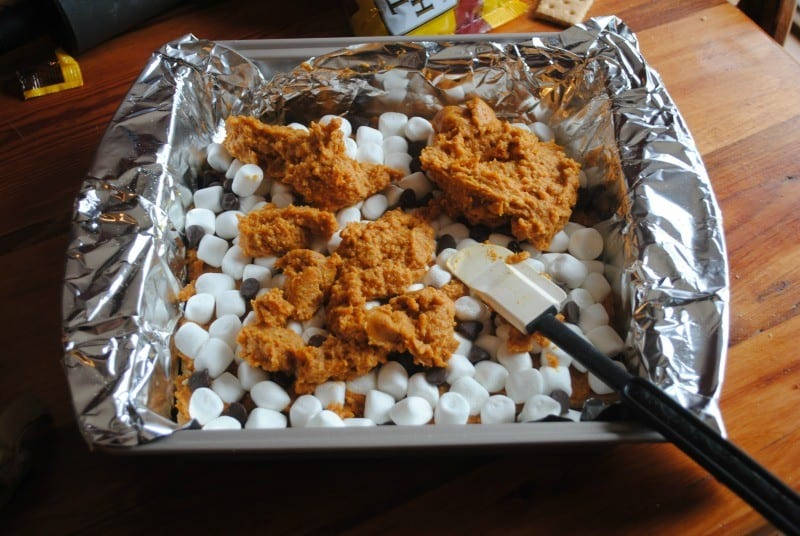 smores bars oven ready