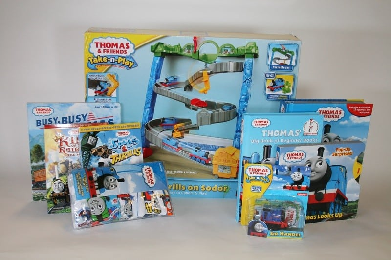 thomasrewards take n play prize pack