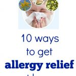 ways to get allergy relief at home