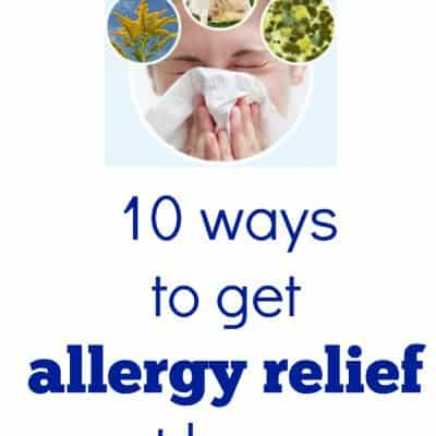 10 Ways to Get Allergy Relief at Home