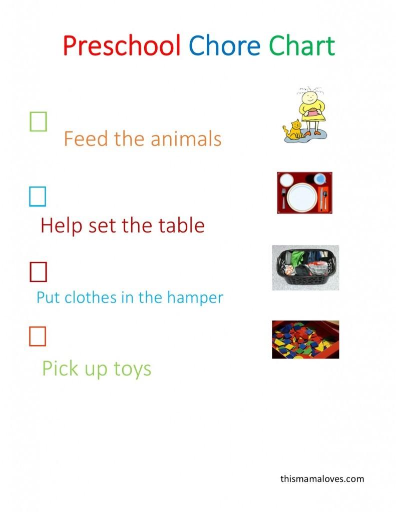 Preschool-chore-Chart-printable