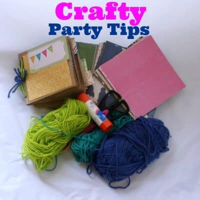 Crafty Party Tips #TrashCrashers
