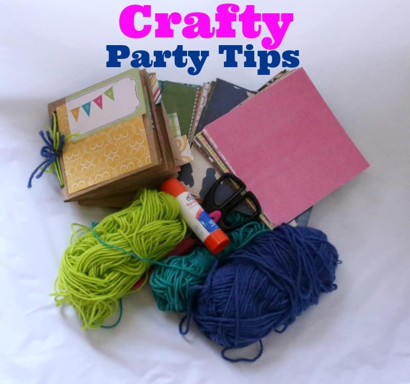 crafty party tips