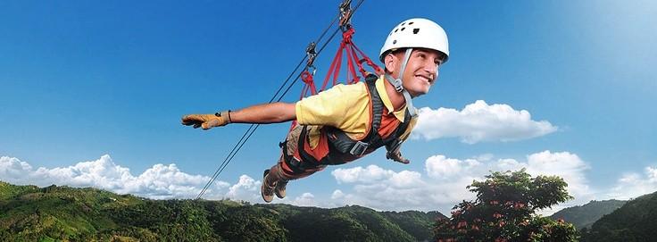 ziplining in puerto rico
