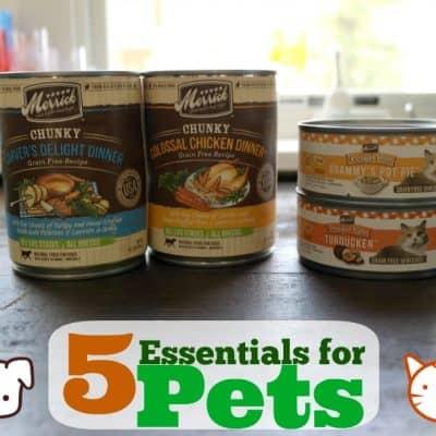 5 Essentials for Pets  #PSP4Pets