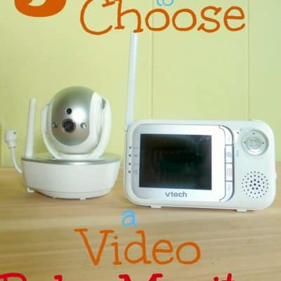 5 Reasons to Choose a Video Baby Monitor