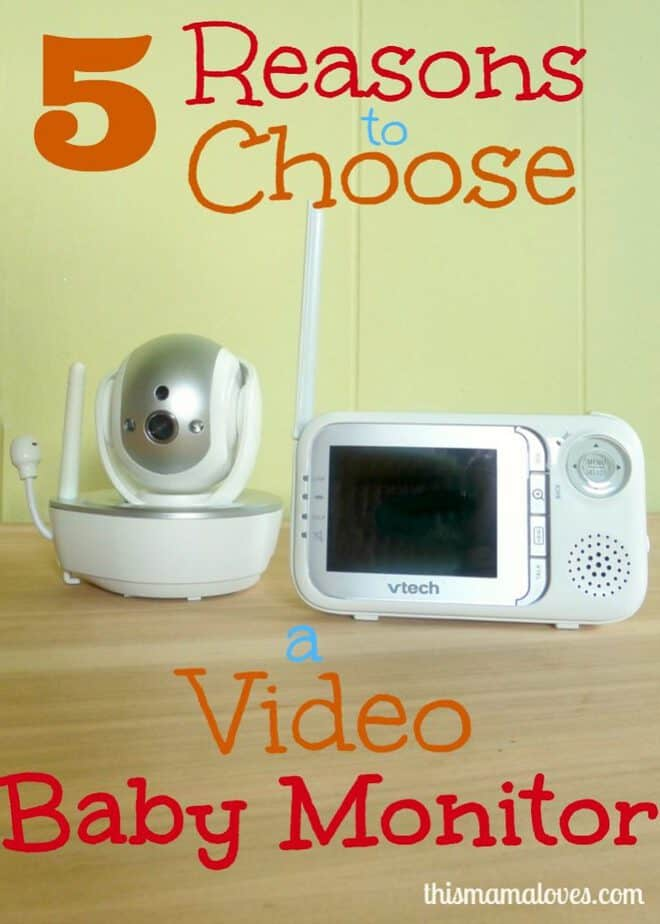 5 reasons to choose video baby monitor