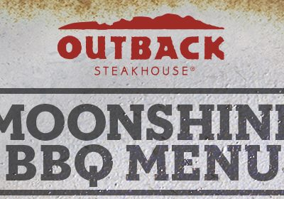 Moonshine BBQ makes me smile. #OutbackBestMates