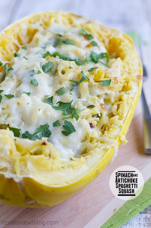 Spinach-Artichoke-Spaghetti-Squash-recipe-Taste-and-Tell-1