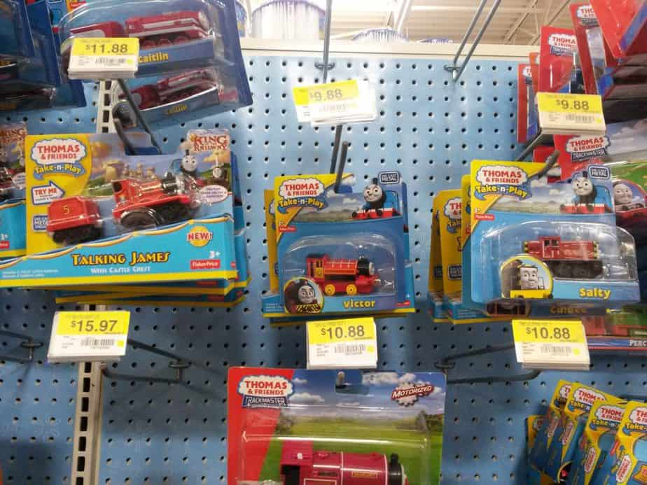 Thomas & Friends at Walmart