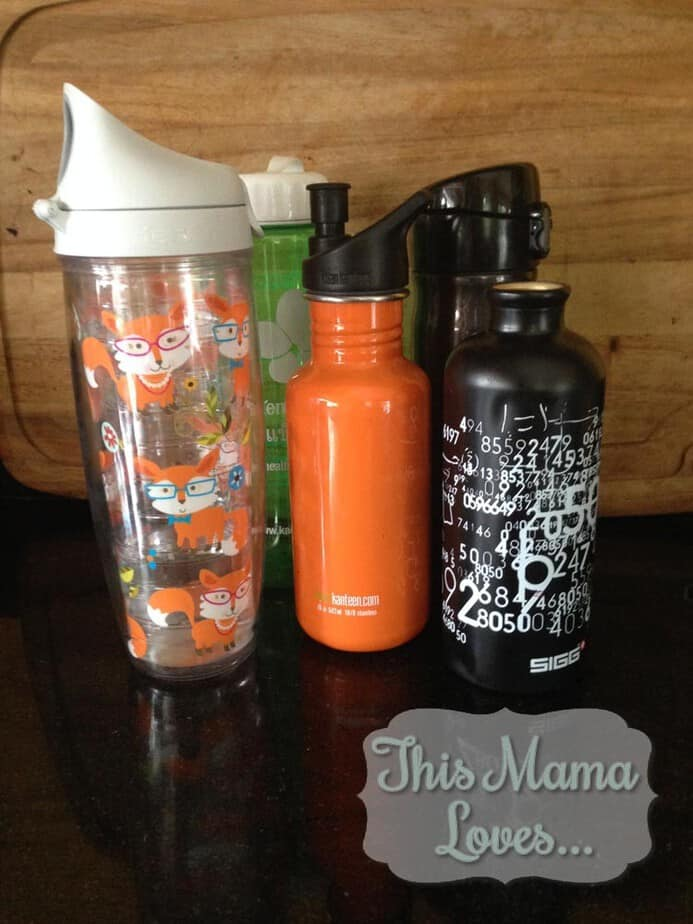 Water Bottles family hydrate