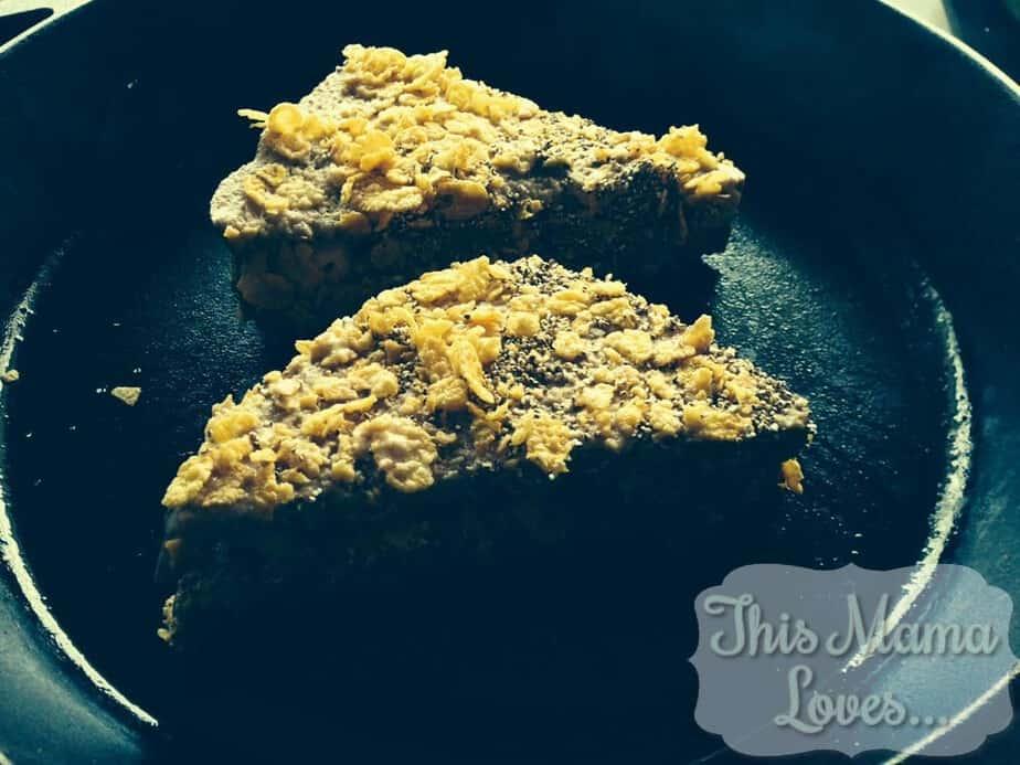vegan berlin stuffed french toast